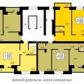 3-комнатная квартира, УЛ. АВИАТОРОВ, 64