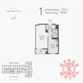 1-комнатная квартира, Гаражная, 7