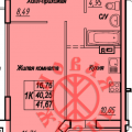1-комнатная квартира, САМАРА, СТЕПАНА РАЗИНА, 150