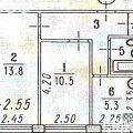 2-комнатная квартира,  ПЕР. БАШЕННЫЙ, 2