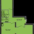 2-комнатная квартира, УЛ. ФЕДЮНИНСКОГО, 47