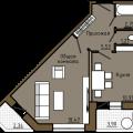 1-комнатная квартира, ПР-КТ. ТРУДА, 72