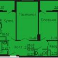 2-комнатная квартира, ПР-КТ. ЛЕНИНСКИЙ, 124