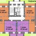 1-комнатная квартира, УЛ. КРАСНЫЙ ПУТЬ, 105 К8