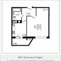1-комнатная квартира, Шестая, 3