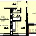 2-комнатная квартира, УФА, УЛ. СОЧИНСКАЯ, 15 К2