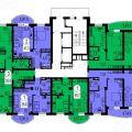 3-комнатная квартира,  Белые Росы, 21