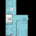 2-комнатная квартира,  ул. Достоевского, 52А