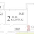 2-комнатная квартира, УФА, УЛ. ТАЛЬКОВАЯ, 3