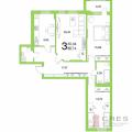 3-комнатная квартира, УФА, УЛ. ТАЛЬКОВАЯ, 3
