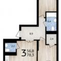 3-комнатная квартира, УФА, УЛ. КОММУНИСТИЧЕСКАЯ, 102