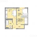 1-комнатная квартира, УЛ. КОРЕНОВСКАЯ, 87