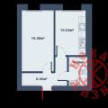 1-комнатная квартира, 8 марта, 6