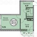 1-комнатная квартира,  УЛ. КРУГОВАЯ, 4