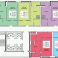 2-комнатная квартира, Революционная, 101 б