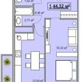 1-комнатная квартира, УЛ. ИМ ФИЛАТОВА, 32