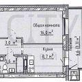 1-комнатная квартира, УЛ. ДИМИТРОВА, 126