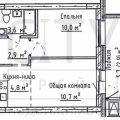 2-комнатная квартира, УЛ. ДИМИТРОВА, 126