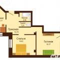 2-комнатная квартира, УЛ. И.МИШИНА, 4СТР
