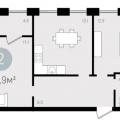2-комнатная квартира, УЛ. СУХОДОЛЬСКАЯ, 21