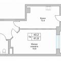 1-комнатная квартира, АКАДЕМИКА САХАРОВА Д. 68