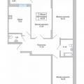 3-комнатная квартира, Академика Сахарова д. 9