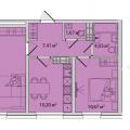 2-комнатная квартира, Ставропольская д. 150