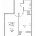 1-комнатная квартира, ЕКАТЕРИНБУРГ, АКАДЕМИКА САХАРОВА Д. 68