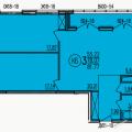 3-комнатная квартира, ПЕНЗА, УЛ. БОРОДИНА, 43
