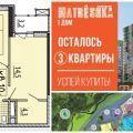 2-комнатная квартира, ИЖЕВСК, ПР. КАЛАШНИКОВА ДОМ 1