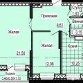 2-комнатная квартира, ИЖЕВСК, УЛ. СОВЕТСКАЯ Д. 71