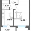 1-комнатная квартира, УФА, УЛ. ЭНТУЗИАСТОВ, 20