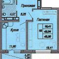 1-комнатная квартира, КРАСНОДАР, ДАЛЬНЯЯ  Д. 4