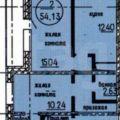 2-комнатная квартира, УЛ. КЛЮЧЕВСКАЯ
