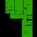 3-комнатная квартира, РЯЗАНЬ, РЫБНОВСКАЯ, 8