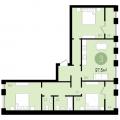 3-комнатная квартира, УЛ. СУХОДОЛЬСКАЯ, 21
