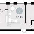 2-комнатная квартира, СУХОДОЛЬСКАЯ Д. 21