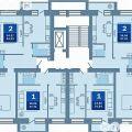 2-комнатная квартира,  УЛ. 12 ДЕКАБРЯ, 117 К3