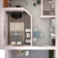 2-комнатная квартира, УЛ. ЛУКИНА, 48