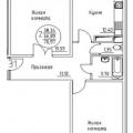 2-комнатная квартира, УЛ. КОБЦЕВОЙ Н.С., 3