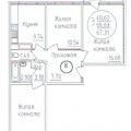 3-комнатная квартира, УЛ. СОЛНЕЧНАЯ, 55/1 К1