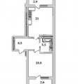 2-комнатная квартира, УФА, УЛ. КОМСОМОЛЬСКАЯ, 109