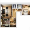 2-комнатная квартира, УЛ. ДАУРСКАЯ, 48А
