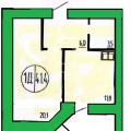 1-комнатная квартира, УЛ. МЕЛЬНИКАЙТЕ, 144