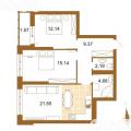 3-комнатная квартира, УЛ. ОТРАДНАЯ, 48