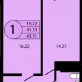 1-комнатная квартира, УЛ. ИМ ПЕТРА МЕТАЛЬНИКОВА, 28