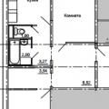 2-комнатная квартира, УЛ. КОСАРЕВА, 43