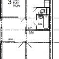 3-комнатная квартира,  ул. Косарева, 43