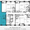 4-комнатная квартира, Вавилова