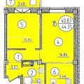 2-комнатная квартира, УЛ. ВАТУТИНА, 29 К2